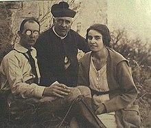 I genitori di Enrico Berlinguer, Maria Loriga e Mario, nel 1930