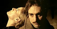 Robert De Niro con Dominique Sanda in Novecento (1976)