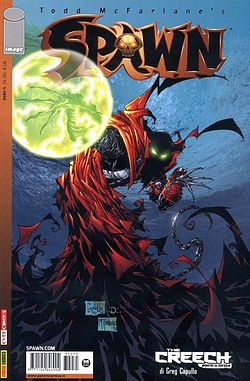 Copertina del n. 75 di Spawn (ed. it., di McFarlane/Capullo)