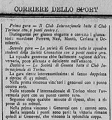 Campionato Italiano Di Football 1898 Wikipedia