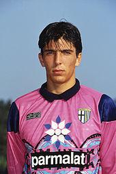 Buffon da adolescente nelle giovanili del Parma, nella stagione 1994-1995