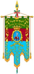 Gonfalone civico di Catania