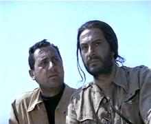 Nino Manfredi e Alberto Sordi in Riusciranno i nostri eroi a ritrovare l'amico misteriosamente scomparso in Africa? di Ettore Scola (1968)