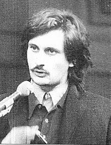 Franco Berardi Bifo, redattore di Radio Alice nel 1977