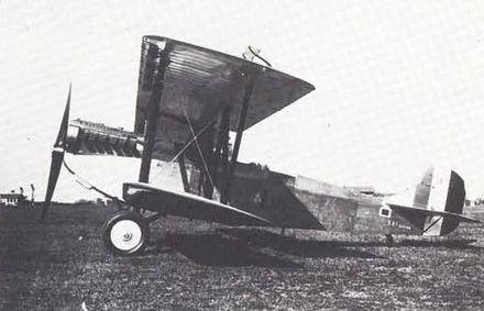 Un Fiat B.R.3 del tipo in dotazione al 15º Stormo.
