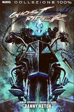 Ghost Rider (Danny Ketch), dipinto da Clint Langley
