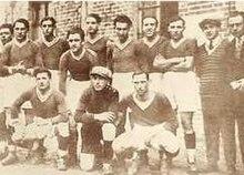 Una formazione del neonato Napoli nel campionato 1926-1927