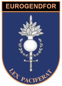 Coat of arms of the Eurogendfor.png