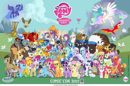 Personaggi Di My Little Pony Lamicizia è Magica Wikipedia