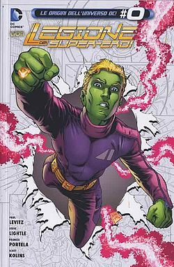Brainiac 5, disegni di Lightle/Major