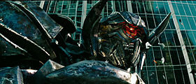 Shockwave nel film Transformers 3