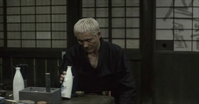 Zatōichi interpretato da Takeshi Kitano
