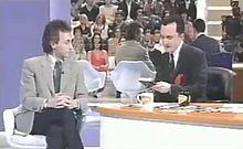 Marco Travaglio intervistato da Daniele Luttazzi il 14 marzo 2001.