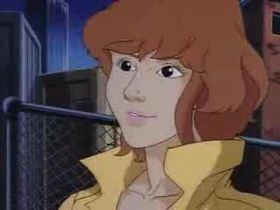 April nella serie animata del 1987