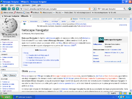 Netscape Navigator 9 su Windows XP