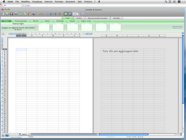 Screenshot di Microsoft Office 2008 per Mac