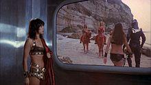 Nadia Cassini ne Scontri stellari oltre la terza dimensione (1978)