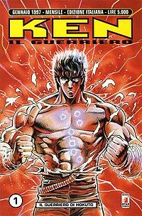 La copertina del primo numero della seconda edizione italiana del fumetto