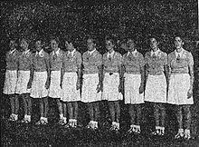 La Nazionale all'Europeo 1938.