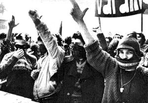 Manifestazione di Autonomia Operaia