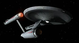 Immagine dell'astronave USS Enterprise