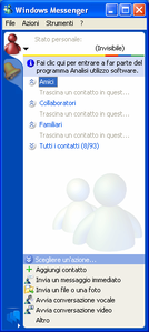 Windows Messenger 4.7 su Windows XP