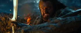 Richard Armitage interpreta Thorin nell'adattamento cinematografico di Peter Jackson