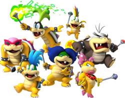 Bowserotti in New Super Mario Bros. Wii