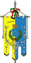 Gonfalone della città di Pisticci.