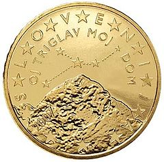 Moneta da 50 centesimi della Slovenia