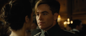 Steve Trevor interpretato da Chris Pine