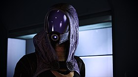 Tali in Mass Effect 2