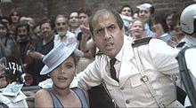 Ornella Muti con Adriano Celentano in una scena del film Innamorato pazzo del 1981