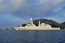 La fregata Carlo Bergamini (F590) varata nel 2011