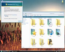 nuova interfaccia grafica windows vista