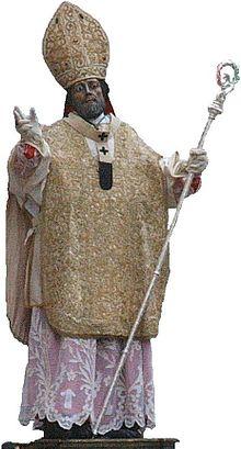 L'arcangelo Michele apparve a san Lorenzo Maiorano la prima volta a Siponto in sonno, come fu per Sant'Auberto, vescovo di Avranches