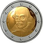 2 euro commemorativo san marino 2016 Shakespeare.jpeg