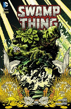 Swamp Thing, disegni di Fairbairn e Paquette