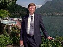 Bill Gates sul Lago di Como nel 1995