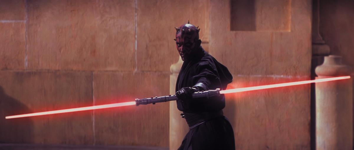 Darth Sidious en el Star Wars Episodio I: La Amenaza Fantasma
