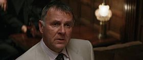 Carmine Falcone (Tom Wilkinson) in Batman Begins