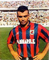 Luca Brunetti al Taranto sul finire degli anni ottanta