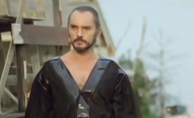 Il generale Zod (Terence Stamp) in Superman II