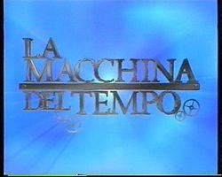 La macchina del tempo (programma televisivo)