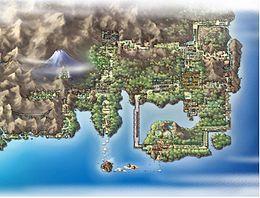 Mappa di Kanto