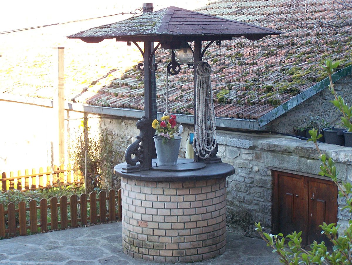 Pozzi Decorativi Da Giardino : Pozzo decorativo da giardino design per la casa moderna