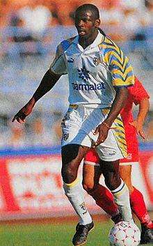 Thuram al Parma nel 1996