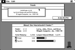 Screenshot del System 6.0.8