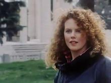 Nicole Kidman in Un'australiana a Roma (1987), che segnò il suo debutto nella televisione italiana