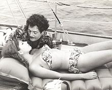 Stefania Sandrelli e Marcello Mastroianni in Divorzio all'italiana (1961) di Pietro Germi
